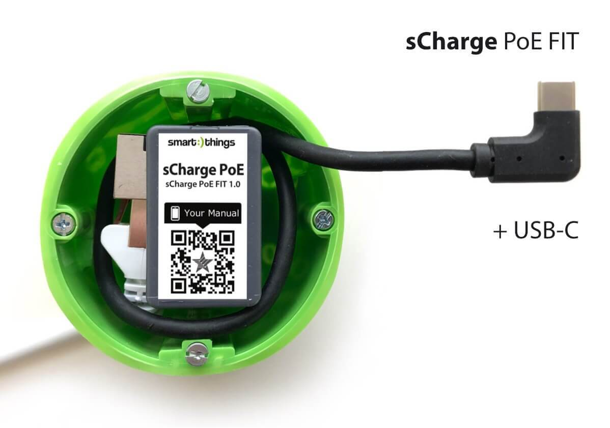 smart things s28 C sCharge PoE