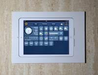 """Wall-Smart Retrofit für iPad 5 (2017) 9,7"""", iPad 6 (2018) 9,7"""" Weiß, mit Audio-Öffnungen"""