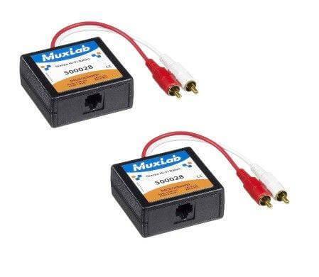 MuxLab Stereo HiFi Balun MU 500028-2PK