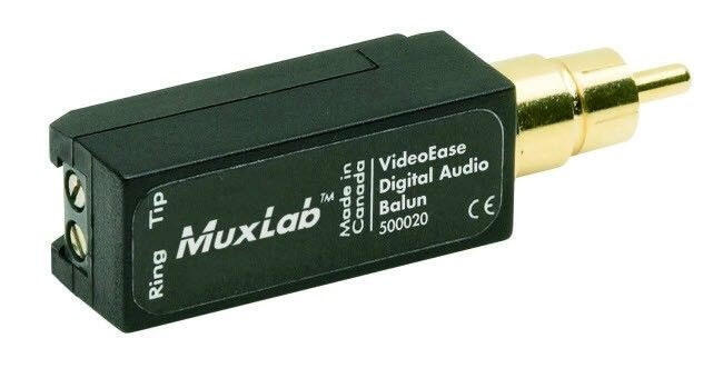 MuxLab Digital Audio Balun MU 500020