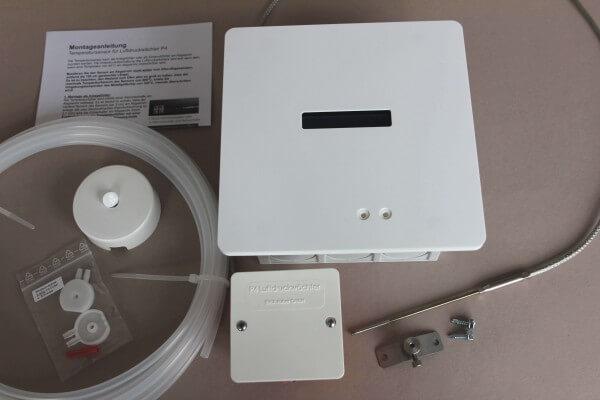 Luftdruckwächter P4 Funk Unterputz im HOME-Design