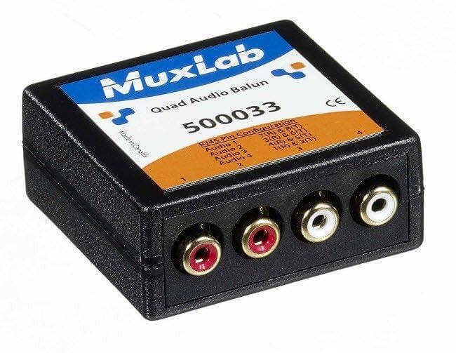 MuxLab Stereo Audio Balun MU 500033
