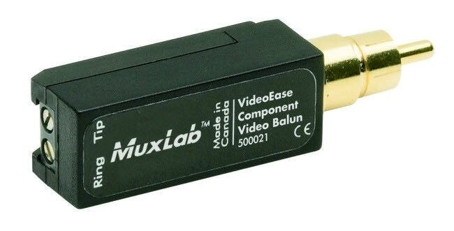 MuxLab  Y, Pb oder Pr Video Balun MU 500021