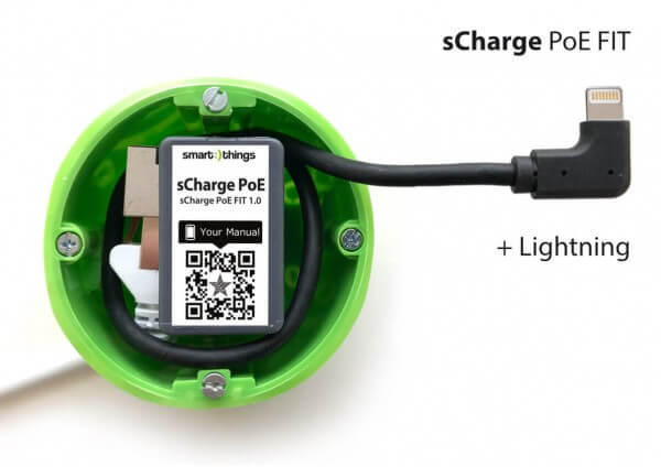 smart things s28 L sCharge PoE