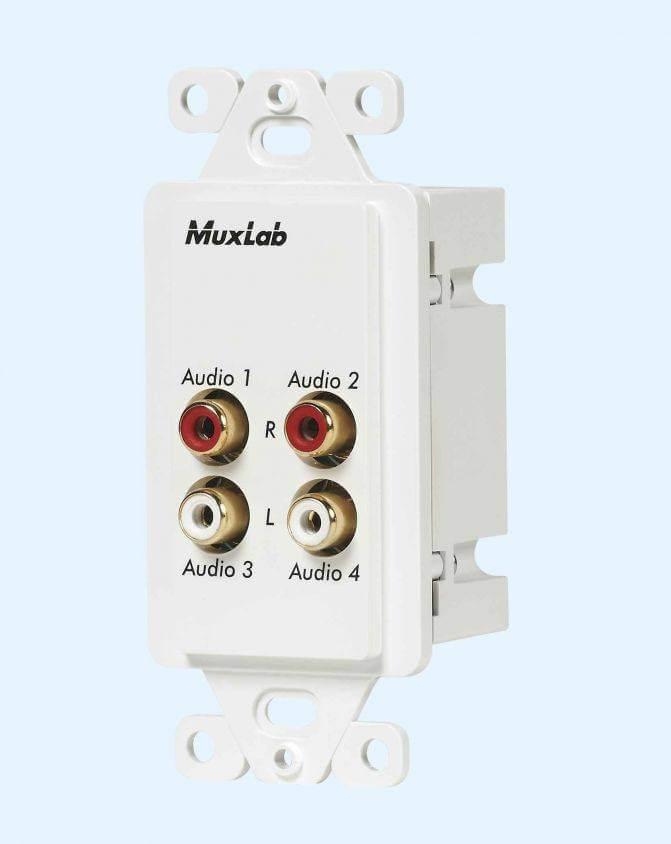 MuxLab Stereo Audio Balun MU 500033 WP-Us