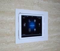 """Wall-Smart Retrofit für iPad Air (2019) 10,5"""" Weiß, mit Audio-Öffnungen"""
