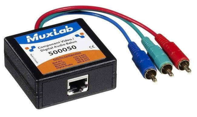 MuxLab Componenten Video / Digital Audio Balun MU 500050