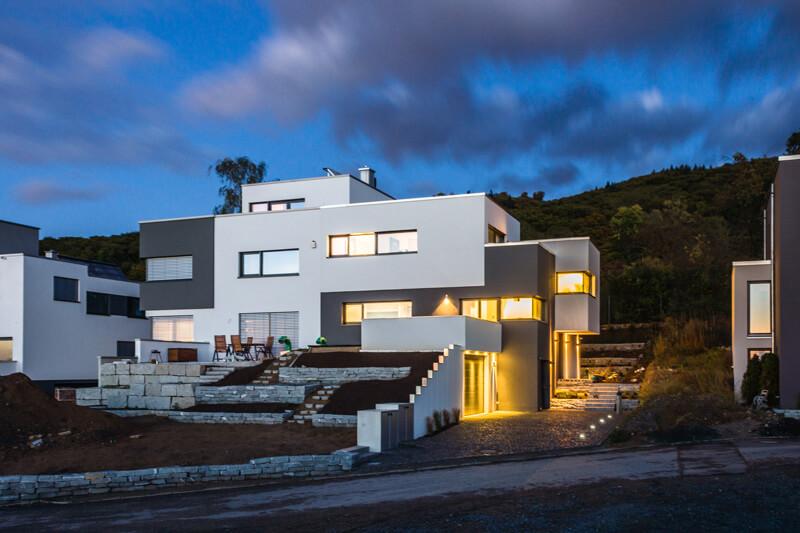smart home knx villa casaio. Black Bedroom Furniture Sets. Home Design Ideas
