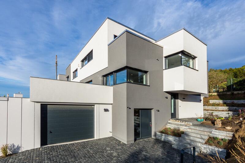 Au Enfassade smart home knx villa casaio