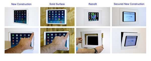 iPad Wandhalterung Übersicht von Wall-smart