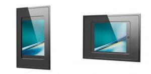 iPad Wandhalterung fixDock von iroom im hoch- und querformat