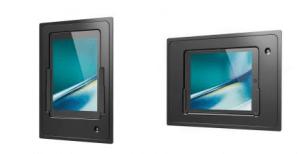iPad Wandhalterung iDock von iroom im hoch- und querformat