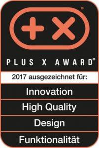 Plus X Award 2017 Tense