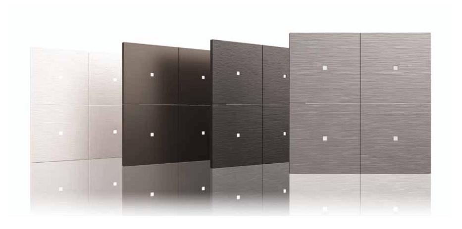 Vier Designs Tastsensoren von TENSE
