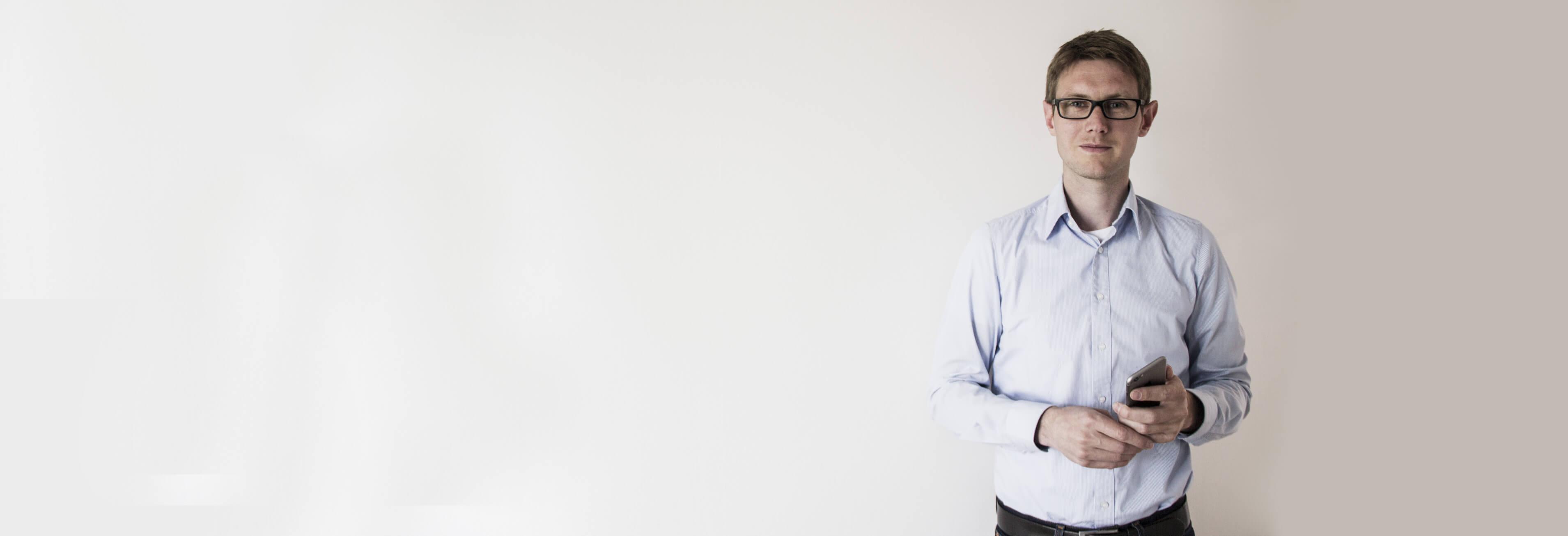 Thomas Lübbeke Geschäftsführer der Casaio GmbH