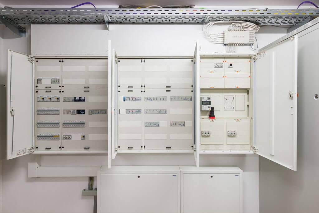 Server Raum im Casaio Smart Home