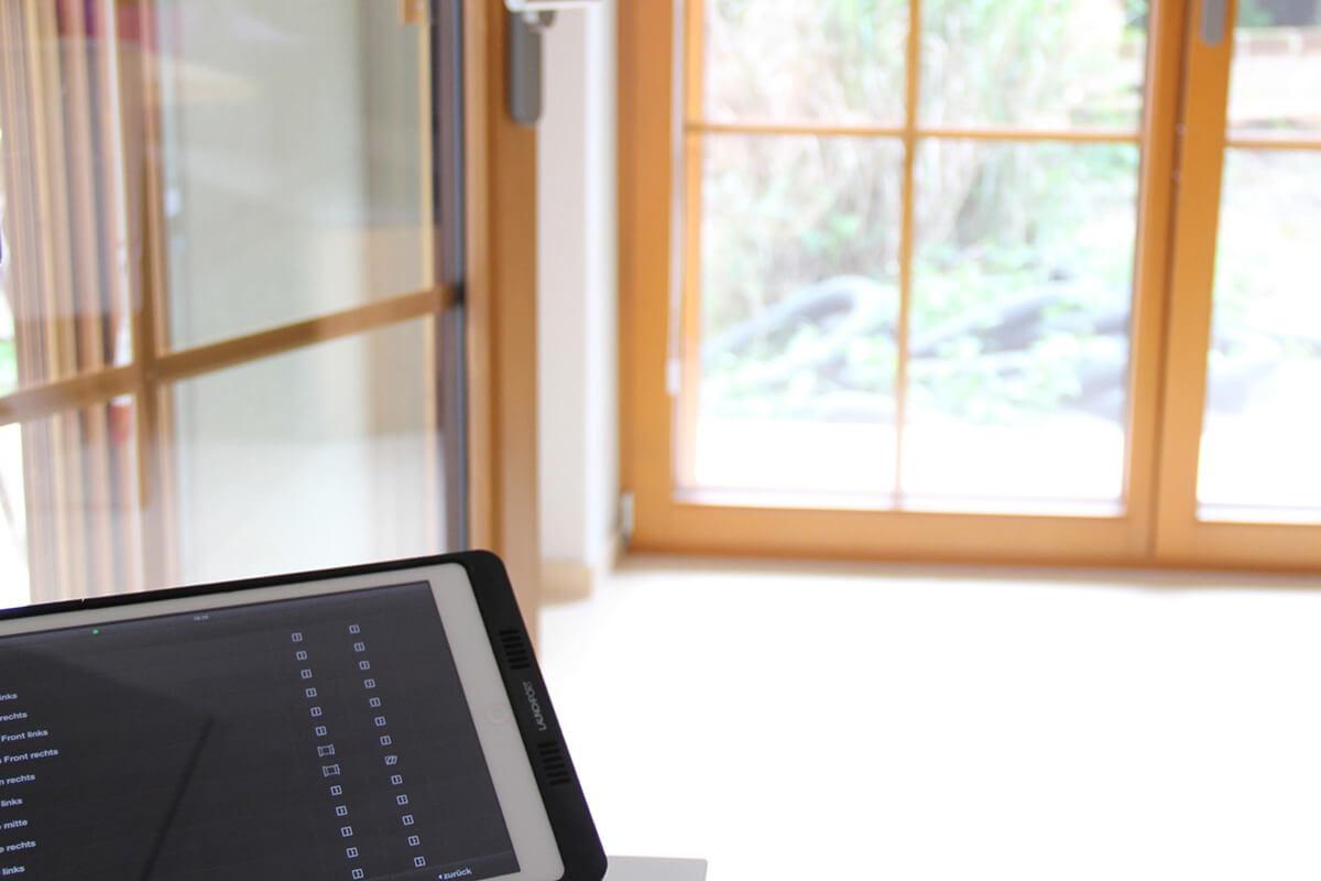 Haussteuerung mit Tablet