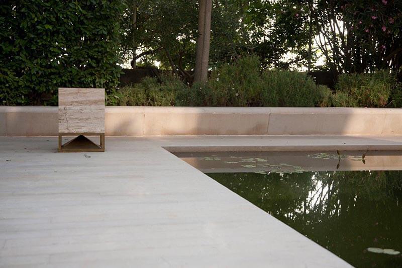 Architettura Gartenlautsprecher Pool